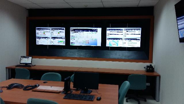 Control Room Riau Fiber