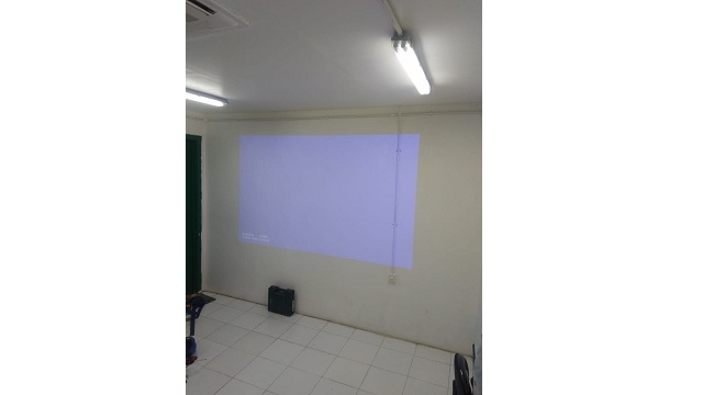 Instalasi Projector PT. Asia Pacific Rayon